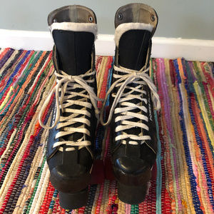 Vintage Shoes - 80s Roller Derby Power Play Roller Hockey Skates